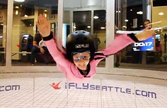 iFly : Kids Indoor Skydiving