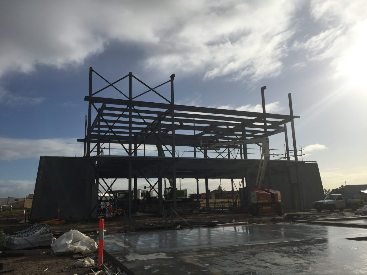 iFLY Perth construction Update August 2016