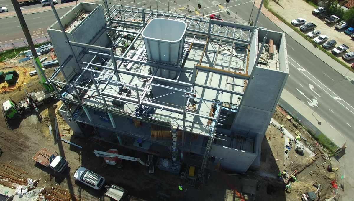 iFLY Perth Construction