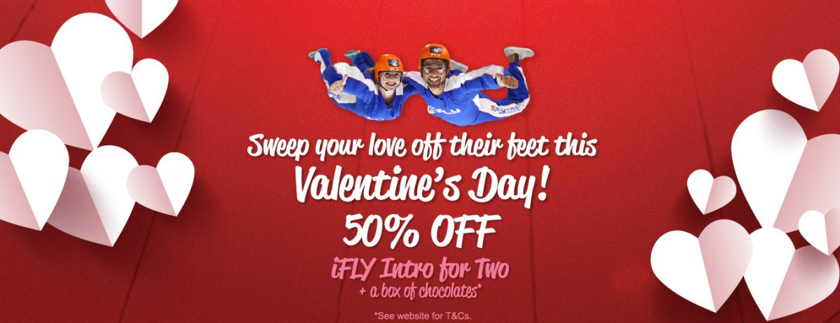50% OFF - Valentine's Day Special*