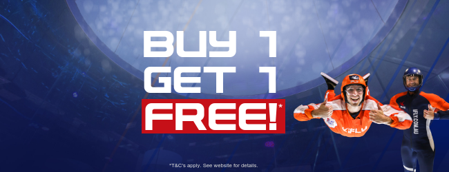 Buy 1, Get 1 FREE iFLY Basic & iFLY Value Packages