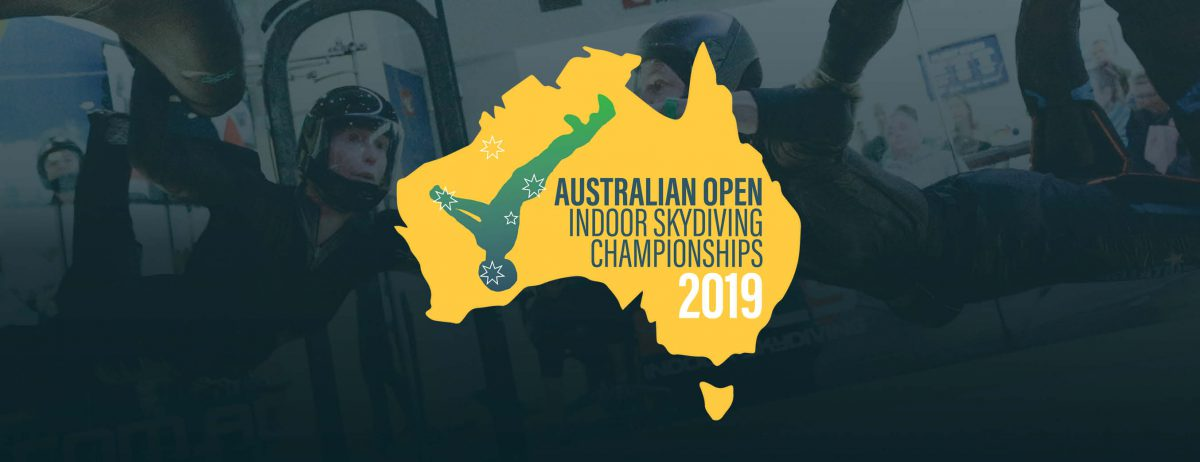 2019 Australian Open Indoor Skydiving Championships - 23rd & 24th August!